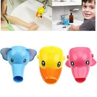 Moda Baño Extensor de grifo para niños niños niños para niños lavado de manos de dibujos animados grifo de dibujos animados juguetes de baño bebé lavado a mano ayudante