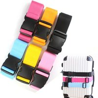 Toiletry Kits Adjustable Nylon Travel Luggage Backpack Bag Suitcase Straps Baggage Belt Rope Ties Down Strap Accessories