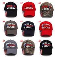 Trump 2024 CAP 20 foi manipulado chapéu de beisebol bordado com cinta ajustável 9 designes