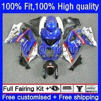 Körperspritzgussform für Suzuki K7 GSXR 1000 CC 1000cc 07 08 Körperarbeit 27No.48 Blau schwarz NEU GSXR1000 GSX-R1000 2007 2008 GSXR1000CC GSXR-1000 2007-2008 OEM-Verkleidungsset