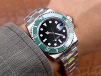 Top N Factory V11 Hombres Relojes de zafiro ETA 2836 3135 3235Movement Ceramic Bezel 116610LN 904L Acero inoxidable impermeable 10atm Wristwatch