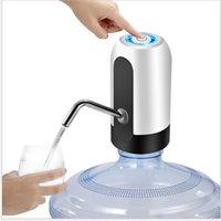Pompe per bottiglie di acqua potabile elettrica USB Ricarica USB Portable Pompa acqua Distributore Bere Bottle Switch Pompa automatica Acqua automatica 184 S2