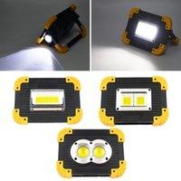 Multiroputurpose Portable à LED portable de travail super lumineux Lumière de travail rechargeable pour lampe de camping en plein air