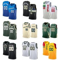 Özel Giannis 34 Antetokounmpoo Basketbol Formaları Khris 22 Middleton Jrue 21 Tatil Donte 0 Divincenzo Erkekler Brook 11 Lopez