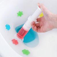 화장실 청소기 젤 플라스틱 꽃 젤 바늘 청소기 향수 화장실 탈취 욕실 화장실 청소 도구