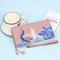 Wallet Chinese Style Handbag Fashion Pearl Fish Pattern Women's Purse Long Zipper Bag