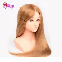 Wholesale price Realistic Fiberglass mannequin head with shoulders for wigs hairdresser training head manikin Styling Training head for hair