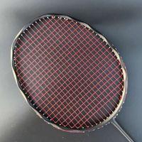 4u 100% Karbon Badminton Raket Profesyonel 28-30lbs G5 Ultralight Ofansif Badminton Raket Raket Eğitim Spor Q1120