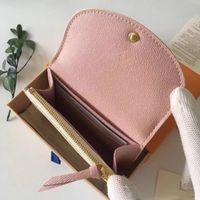 أعلى جودة مصمم محفظة dicky0750 للنساء محافظ قصيرة الأزياء حامل بطاقة جلدية مصغرة محفظة حقيبة سستة الحقيبة عملة جيب مخلب amylulubb بالجملة