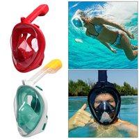 Swimming Snorkel Diving Mask Scuba Mask Underwater Anti Fog Full Face Snorkeling Mask Women Men Kids Diving Equipment Dropship L0312