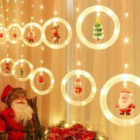 Strings 3M Christmas Garland LED Curtain Icicle String Lights Indoor Decor Garden Street Decorative Holiday Light