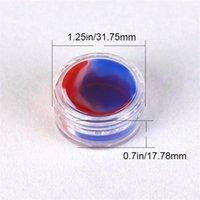Verdampferöl nicht stick Silikonbehälter klar 3 ml Kunststoff DAB Wachs Aufbewahrung von Glas Bruchglas Wasserleitungen Acryl Siliziumgen 1314 T2