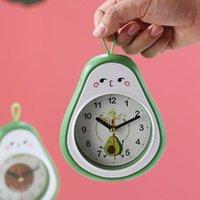 Outros relógios Acessórios Cute desenhos animados Alarme Kids Plastic Fruit Meninas Estudante Criativo Despertador Infantil Sala Decoração DM50AC