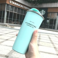 2020 Starbucks 진공 절연 여행 커피 머그잔 스테인레스 스틸 텀블러 땀 무료 보온병 플라스크 물병 무료 선박 13 S2