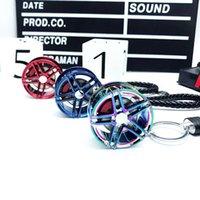 حار بيع السيارات المعادن عجلة محور مفتاح سلسلة التعديل الإبداعي BS قلادة منخفضة الكذب مروحة هدية