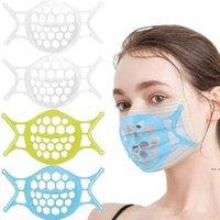 Silicone 3D boca máscara de máscara rosto máscara suporte de suporte de válvula respiratória filtros suportes suportam o suporte de máscara de silicone de silicone hwb5391
