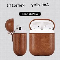 Suitable for airpods 2 Case luxury leather wireless headset protective cover 1 airpods Pro case 3 protective cover