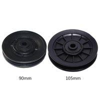 Durable verschleißfeste Nylonlagerscheibe Radkabel Gym Fitnessgeräte Zubehör 90/105mm
