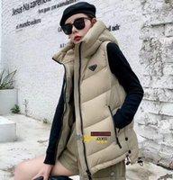 2021 파리 패션 가을 겨울 패션 숙녀 조끼 디자이너 하이 엔드 남성용 코튼 사용자 정의 후드 재킷 편안한 따뜻한 기질