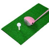 Golf Training Aids Practice Mat For Home Backyard Office Outdoors Hitting Pad Rubber Grass Green