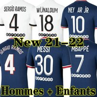 MESSI NEYMAR JR MBAPPE ICARDI PSG 21 22 soccer jersey Fußball Trikots 2020 2021 2022 Paris Saint Germain Trikot Survêtement Fußball Kit Fußball Shirt Frauen Fußball Trikot