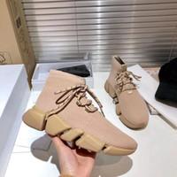 إمرأة متماسكة جورب الدانتيل متابعة مصممي الأحذية رياضة شبكة منصة الأحذية تمتد عداء المدربين أعلى جودة عارضة الأحذية 38 الألوان مع مربع