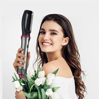Hair Dry Brush, 5 In 1 Hot Air Brushes Set One-Step Hairs Dryers and Volumizer Ceramic Blow Dryer for Straightening Curling Drying Combing