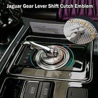 Jaguar Panther Leopard 배지 엠블럼 기어 레버 시프트 Cutch 스티커 데칼 XF XFL XFR XJ XJ6 XK S F 유형 자동차