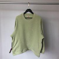 Men Women 1:1 High Quality Butter Green Matcha Green Black Pullover Crewneck Hoodie Crew Neck Fleece KAPITAL Sweatshirts