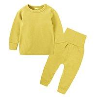 2021 100 % 코튼 소년과 소녀 긴 소매 잠옷 어린이 어린이 잠옷 키즈 크리스마스 Pijamas Infantil homewear Nightwear Pei8