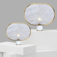 Table Lamps Screen Light Desk Lamp Bedside Simple Modern Marble Creative Room Decoration For El Project Big Luxury