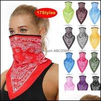 Protective Gear Cycling Sports Outdoorscycling Caps & Masks Big Sale 17 Style Men Women Face Scarf Bandana Ear Loops Balaclava Neck Gaiters