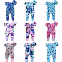 Jumpsuits Infant Jumpsuit Autumn Romper Cartoon Print Baby Girl Boy Cotton Onesie Born Climbing Long Sleeve Rompers Clothing