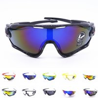Outdoor Sport Men Women Cycling Eyewear Bike Bicycle Glasses Sunglasses UV Proof 400 Goggles J6R0