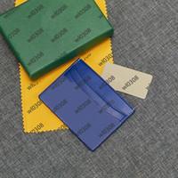 2020 Top Hohe Qualität Männer Frauen Kreditkarteninhaber Paris Gy Style Designer Klassische Mini Bank Mens Card Hole Designer Frauen Brieftasche mit Box
