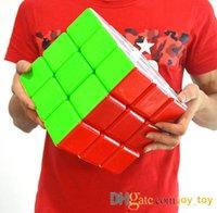 7-дюймовый гигантский скорость Magic Cube 3x3x3 ультра-гладкий 18см скорость кубики головоломки крутить игрушечные подарки упаковки