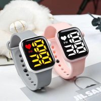 Wristwatches Men Women Watch LED Electronic Digital Watches Sport Water-Proof Casual Fashion Simple Children Gift