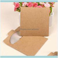 Gift Event Festive Party Supplies Home & Gardengift Wrap Craft Paper Plain Card Leaf Holder Storage Case Bag Envelopes 100 Sheets Fine Kraft