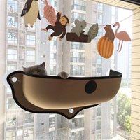 طقط أسرة الأثاث قشعريرة الحيوانات الأليفة نافذة الأرجوحة الكؤوس الشفط قوي عش مريح دافئ عش مع حصيرة