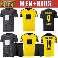 21 22 HAALAND REUS Malen soccer jerseys Borussia Fan Player version home away third 2021 2022 DOrtMUnd kids kits BRANDT PLSZCZEK BELLINGHAM HUMMELS football shirt
