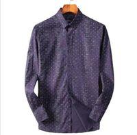 Fashion Plaid Turn-Down Collar Long Sleeve Men's Casual Slim Fit Shirt Top hot#01