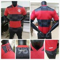 Jogador Versão 2021 Cr Flamenco Futebol Jerseys 2022 Flamengo Guerrero Diego Vinicius Flamengo Gabriel B Camisa de Futebol