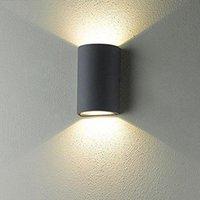 벽 램프 방수 AC85-265V COB 6W 10W LED 현대 디자인 실내 야외 산책로 조명 현관 가든 Sconce