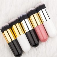 Makeup Brushes Chubby Pier Brush Portable Foundation Flat Powder Blusher Concealer BB Cream Make Up Cosmetic Beauty Tool