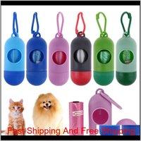 Süßes Haustier liefert Hundekacke Bag Scoop Leine Spender mit Haken Mini Qylcdo Homes2007