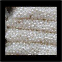 Drop Lieferung 2021 ABS lose 8mm Halsketten Baby Armbänder für die Herstellung von Perlen Schmuck China NMV35