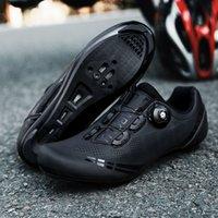 2021 Профессиональные спортивные велосипедные туфли MTB Велоспорт мужчин Женщины любят самоблокирующийся дорожный велосипед Sapatilha Ciclismo Shoe 210702