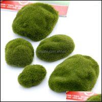 Arts Arts, Gifts & Gardenarts And Crafts Wholesale- 3 Pcs Natural Green Artificial Moss Decorative Micro Landscape Home Ornament Bonsai Suen