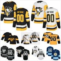 Hombres personalizados Mujeres Niños Pingüinos Pittsburgh Pablo Paul Coffey Brian Dumoulin Bryan Rust Chad Ruhwedel Brandon Tanev Casey Desmit Hielo Hockey Hockey Jerseys