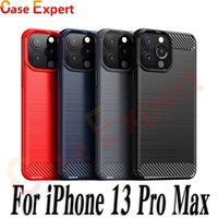 Texture de fibre de carbone TPU Cas de TPU pour iPhone 13 Pro Max SE2020 LG STYLO 7 HARMONY 4 Velvet Pixel 5 Samsung Note 20 S21 Ultra